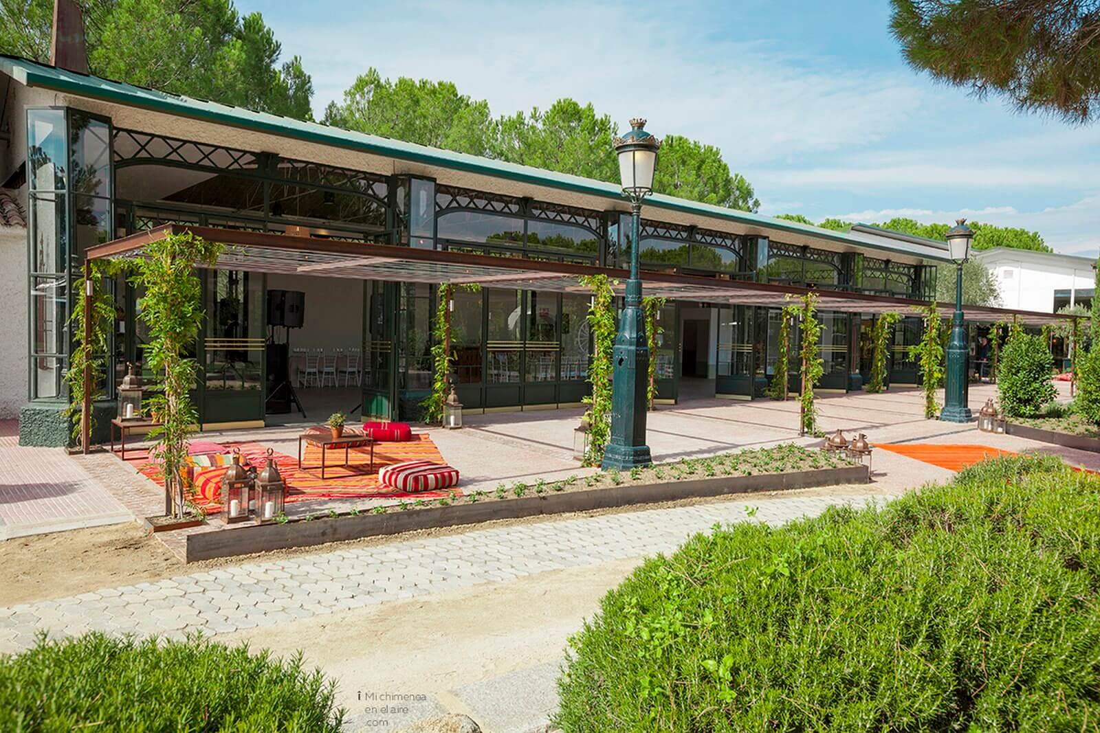jardines finca bodas especiales en Madrid