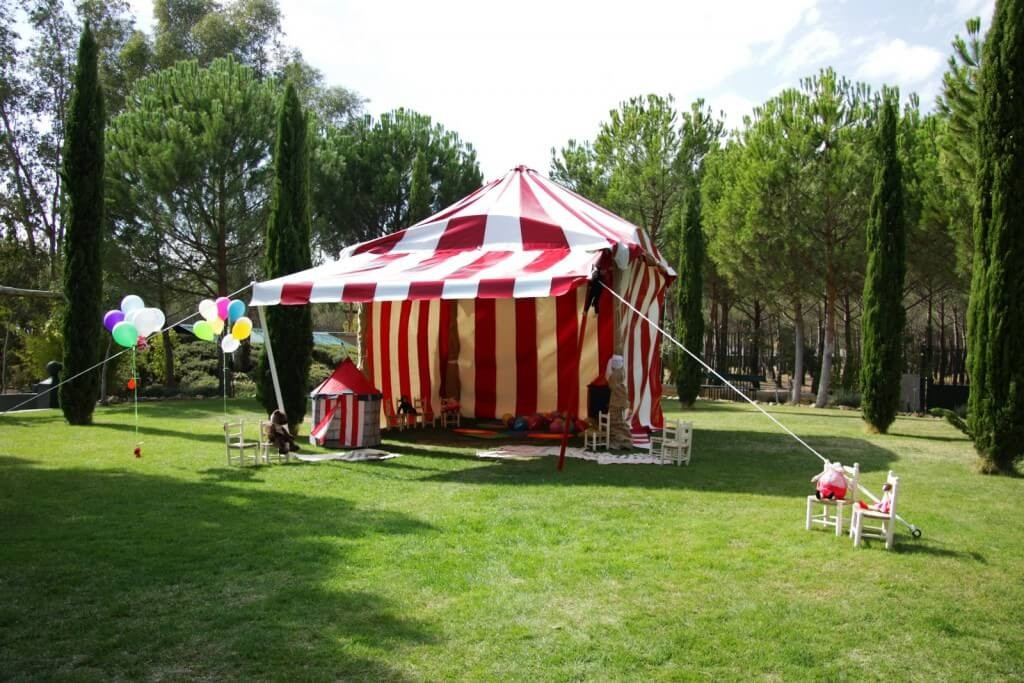 carpa exterior finca eventos en Madrid