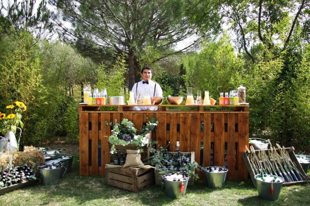 cockteles finca para eventos en Madrid