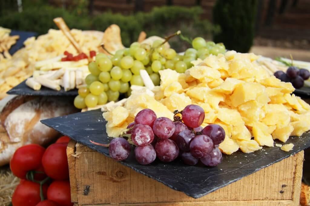 frutas finca bodas especiales Madrid
