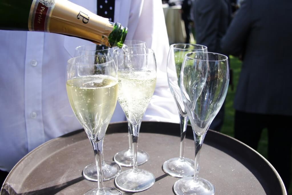 champagne finca bodas especiales en Madrid